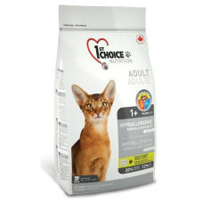 Купить 1st Choice Hypoallergenic беззерновой гипоаллергенный сухой корм с уткой и картофелем для взрослых кошек