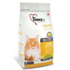 1st Choice Mature or Less Active сухой корм с курицей для стареющих и малоактивных кошек