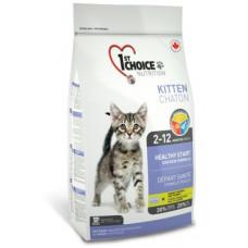 Купить 1st Choice Kitten сухой корм с курицей для котят