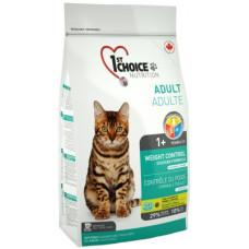 1st Choice Weight Control сухой корм для кастрированных/стерилизованных кошек склонных к полноте