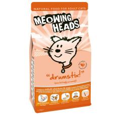 """Meowing Heads сухой корм для взрослых кошек с курицей и яйцом """"Аппетитная курочка"""""""