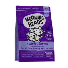 """Купить Meowing Heads сухой корм для котят с курицей и рисом """"Восторженный котенок"""""""