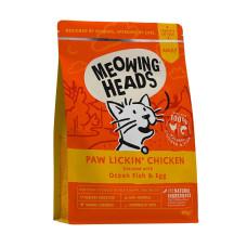 """Meowing Heads сухой корм для взрослых кошек с курицей и рисом """"Куриное наслаждение"""""""