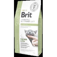 Brit VDC Grain Free Diabetes беззерновая диета с курицей и горохом при диабете у кошек