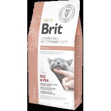 Купить Brit VDC Grain Free Renal беззерновая диета с яйцом и горохом для поддержания функции почек при хронической почечной недостаточности у кошек