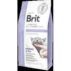 Купить Brit VDC Grain Free Gastrointestinal беззерновая диета с сельдью и горохом при остром и хроническом гастроэнтерите у кошек