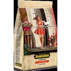 Brooksfield Light/Sterilised полнорационное питание с курицей и рисом для взрослых кошек, страдающих избыточным весом и стерилизованных