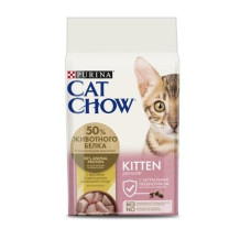 Cat Chow Kitten (для котят с домашней птицей)