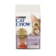 Купить Cat Chow Sensitive (с чувствительным пищеварением)