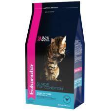 Купить Eukanuba Cat Senior для кошек старше 7 лет с домашней птицей