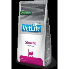 Farmina Vet Life Struvite  диетический сухой корм для кошек при мочекаменной болезни струвитного типа