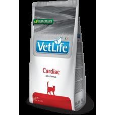 Farmina Vet Life Cardiac диетическое питание для кошек для поддержания работы сердца при хронической сердечной недостаточности