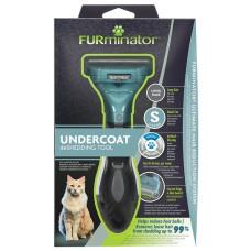 Купить Фурминатор FURminator S для маленьких кошек c длинной шерстью
