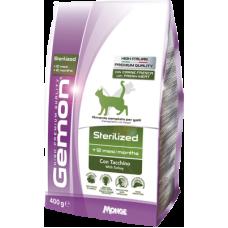 Gemon Cat Sterilised сухой корм для стерилизованных кошек с индейкой