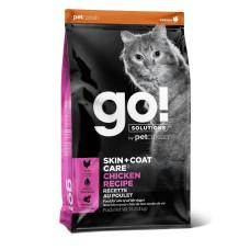 GO!Refresh + Renew Chicken Cat Recipe для котят и кошек с цельной курицей, фруктами и овощами