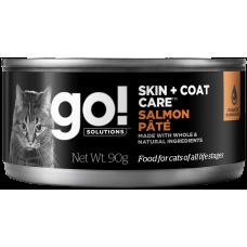 GO! Skin + Coat Care Salmon Pate консервы из лосося для кошек всех возрастов 100г (паштет)