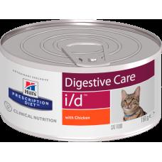 Hill's Prescription Diet Digestive Care i/d with Chicken Cat (банка) консервы диетические для кошек для поддержания здоровья ЖКТ с курицей