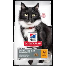 Hill's Science Plan Sterilised Cat Mature Adult 7+ Chicken для стерилизованных кошек старше 7 лет с курицей