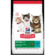 Купить Hill's Science Plan Kitten with Tuna сухой корм для котят для здорового роста и развития, с тунцом