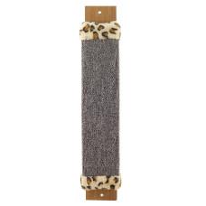 Когтеточка из ковролина №2 с оторочкой из меха, 110*30*570мм