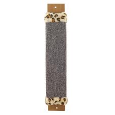 Купить Когтеточка из ковролина №1 с оторочкой из меха, 100*30*530мм