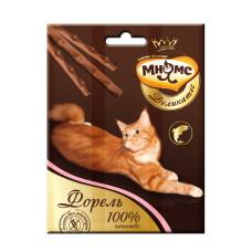 Мнямс Деликатес лакомые палочки 9 см для кошек с форелью 3х4 гр