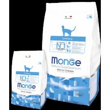Купить Monge Superpremium Cat Urinary сухой корм для профилактики мочекаменной болезни у взрослых кошек