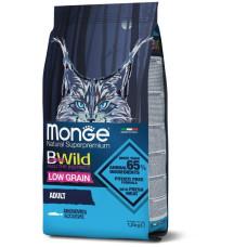 Monge BWild Adult Cat Anchovies сухой корм с анчоусами для взрослых кошек