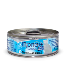 Monge Cat Natural Tonno Dell'Atlantico влажный корм для кошек с атлантическим тунцом (банка)