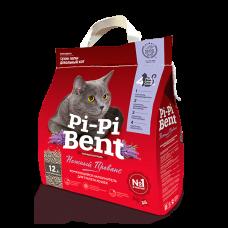 """Купить Pi-Pi Bent """"Нежный Прованс"""" комкующийся наполнитель (бумажный крафт-пакет)"""