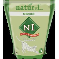 №1 Naturel Молоко комкующийся наполнитель – изготовлен из растительных гранулированных волокон
