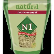 №1 Naturel Растительный наполнитель древесный комкующийся