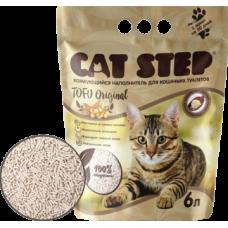Cat Step Tofu Original комкующийся наполнитель из спрессованных соевых волокон, уничтожает неприятные запахи, прост в уборке и использовании