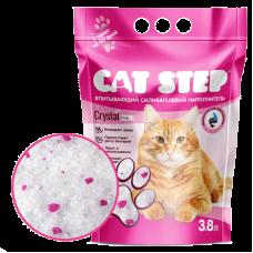 Cat Step Crystal Pink силикагелевый наполнитель