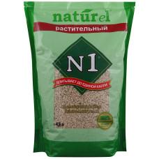 №1 Naturel Кофе наполнитель древесный комкующийся