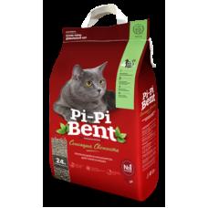 Купить Pi-Pi-Bent Сенсация свежести комкующийся наполнитель с ароматом свежих трав и цветов, изготовленный из экологически чистой бентонитовой глины
