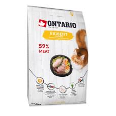 Ontario Cat Exigent сухой корм с курицей для особо требовательных кошек