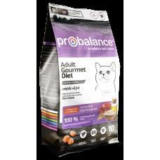 Купить Pro Balance Cat Gourmet Diet Beef & Lamb сухой корм для взрослых кошек с говядиной и ягненком