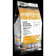 ProBalance Immuno Cat Adult Chicken & Turkey с курицей и индейкой для взрослых кошек