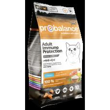ProBalance Immuno Cat Adult Salmon с лососем для взрослых кошек