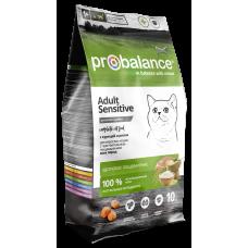 Купить ProBalance Cat Sensitive Chicken & Rice с курицей и рисом для взрослых кошек с чувствительным пищеварением