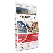 Купить Pronature Holistic Grain Free Asiato «Азиатская Кухня» полноценный беззерновой сухой корм для кошек