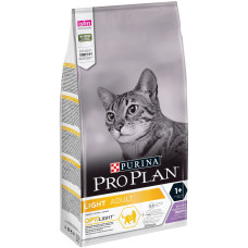 Purina Pro Plan Adult Light сухой корм для кошек с избыточным весом и кошек, склонных к полноте, с индейкой