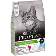 Купить Pro Plan Sterilised OptiSavour Cod/Trout сухой корм с треской и форелью для стерилизованных кошек и кастрированных котов