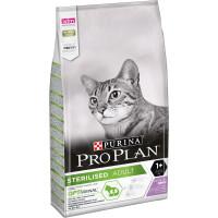 PRO PLAN Sterilised сухой корм для стерилизованных кошек и кастрированных котов для поддержания здоровья почек, с индейкой