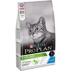 PRO PLAN Sterilised сухой корм для стерилизованных кошек и кастрированных котов, с кроликом