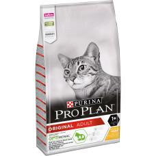 PRO PLAN Adult сухой корм с курицей для взрослых кошек