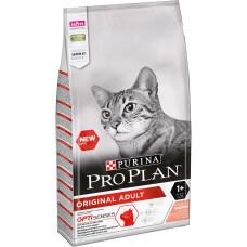 Купить PRO PLAN Adult сухой корм с лососем для взрослых кошек