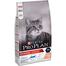 PRO PLAN ORIGINAL SENIOR 7+ сухой корм для взрослых кошек старше 7 лет, с лососем