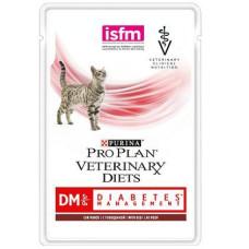 Консервы Purina Pro Plan Veterinary Diets DM с говядиной для кошек при сахарном диабете